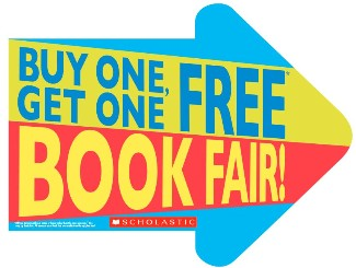 Buy One, Get One FREE Scholastic Book Fair at ESE May 6-8